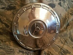 1 1967 67 Dodge Coronet Charger Dart Dog Dish Wheel Hub Cap Oem Mopar