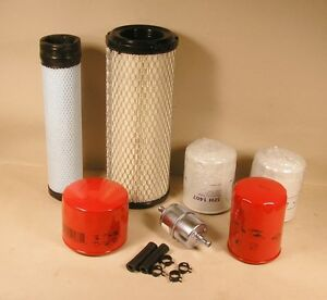 Kubota Rtv1100 Filter Kit Complete 7 Pieces