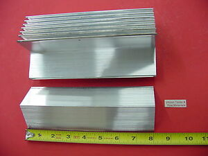 8 Pieces 2 x 2 x 1 8 Aluminum 6061 Angle Bar 8 Long T6 Extruded Mill Stock