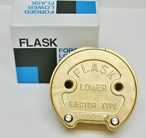 Dental Lab Press Compress Lower Flask Ejector Type Forged Brass