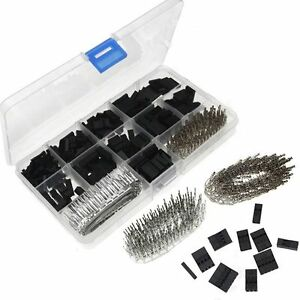 620 Pcs Tc10 0 1 Dupont Wire Jumper Pin Header Connector Kit And M f Crimp Pins