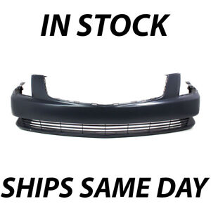 New Primered Front Bumper Cover Fascia Replacement For 2006 2011 Cadillac Dts