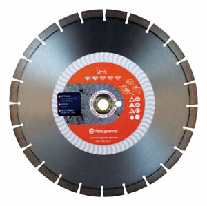 Husqvarna Qh5 14 In Dia Diamond Saw Blade For Wet dry