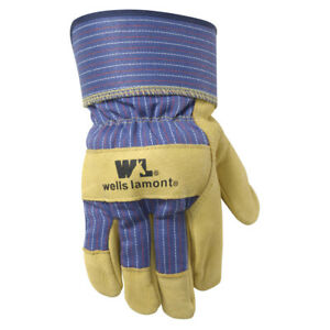 Wells Lamont 3300xl Extra Large Heavy duty Work Gloves With Leather Palm