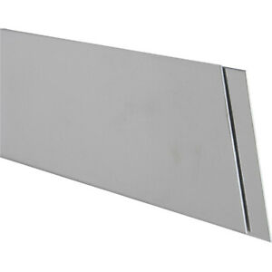 K s 87167 Stainless Steel Mirror Finish Strip 0 028 Thick X 1 W X 12 L In