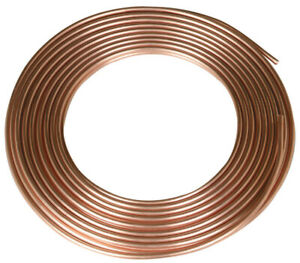 Reading Copper Refrigeration Tubing Type R 3 8 Od X 50 0 032 Wall T