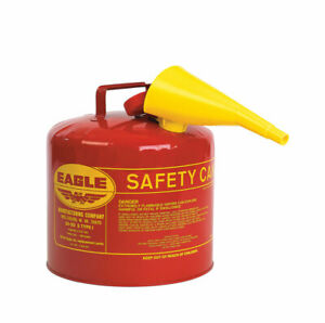 Eagle Steel Safety Gas Can 5 Gal
