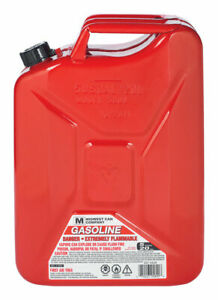 Midwest Can Jerry Gas Can 5 Gal Meets Carb And Epa Requirements Metal