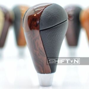 Black Burl Wood Gear Shift Knob For Lexus Gs460 Ls460 Is350 Gs350 Rx450h Cb26
