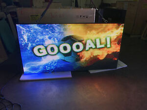 Digital Led Sign Full Color Programmable Outdoor Large 76 X 38 New