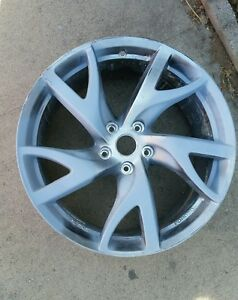 13 14 15 16 Nissan 370z Rays Wheel Rim Forged Factory Oem 19 Front