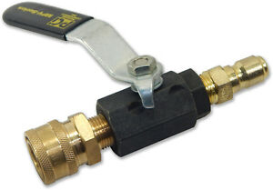 Pressure Washer Ball Valve Switch Between Accessories Easily Abv038