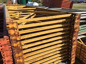 Pallet Rack Upright 43 X 210 Yellow Paltier Style