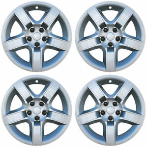Brand New Set Of 4 17 Aftermarket Hubcaps For 2008 2012 Chevy Malibu