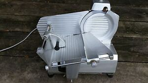 Univex 7510 Meat Deli Slicer 10 Blade Working