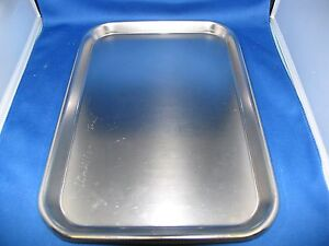 Vollrath polarware anchor Mayo Stand Instrument Trays Lot Of 10