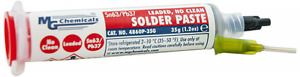 Mg Chemicals 63 37 No Clean Leaded Solder Paste 1 2 Oz Syringe