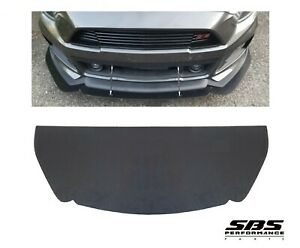 Front Splitter New Abs For 2015 2017 Mustang Roush Front Bumper Holes Predrilled