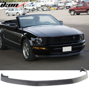 Fits 05 09 Ford Mustang V6 Ikon Style Front Bumper Lip Spoiler Unpainted Pu