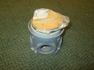 Hubbell Floor Box W Cover D70026 s3925 Brass Cover New Surplus