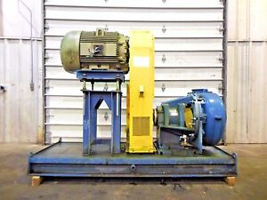 Rx 3596 Metso Mm250 Fhc d 10 X 8 Slurry Pump W 100hp Motor And Frame