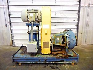 Rx 3605 Metso Mm250 Lhc d 10 X 8 Slurry Pump W 50hp Motor And Frame