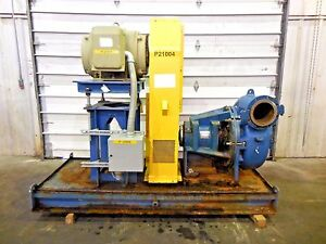 Rx 3606 Metso Mm250 Lhc d 10 X 8 Slurry Pump W 125hp Motor And Frame
