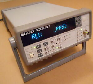 Keysight Agilent Hp 53181a Rf Frequency Counter 225mhz Freq Meter Gp ib Rs 232