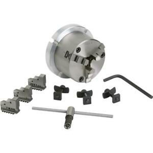 T10054 Grizzly 3 1 4 3 Jaw Chuck For 4 Rotary Table