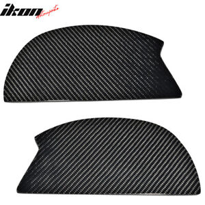 V3 Universal Gt Trunk Spoiler Wing Side Plate Add On Carbon Fiber Cf