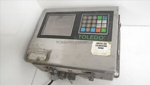 8142 Toledo Scale Digital Operator Interface Panel Used And Tested