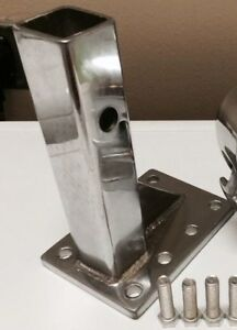 Chrome Adjustable Receiver For Pintle