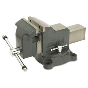 Jet 63302 Ws6 Heavy Duty 30 000 Psi 6 In Jaw Shop Vise With Swivel Base New