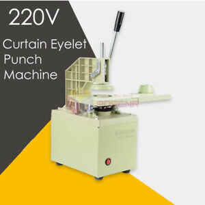 Electric Curtain Eyelet Punch Machine Punching Curtain Hole Punch Maker Tools