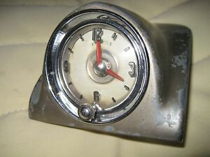 1949 1951 Oldsmobile Clock