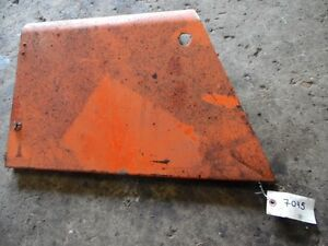 Allis chalmers 190 Front Shield left Tag 7045