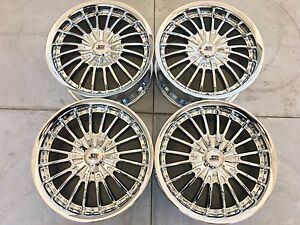 18 18 Inch New Set 4 Of Ssc Wheels Rims Chrome 6x139 7 Fits Dodge Ram 1500