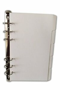 A6 Size Plain 5 Page Dividers Suitable For Personal Filofax Size