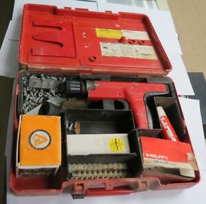 Hilti Dx35 Powder Actuated Nail Gun With Hard C Case