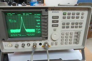 Agilent Hp 8562e 30hz 13 2ghz Spectrum Analyzer