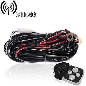 40a 12v Wiring Harness Kit With Laser Switch relay Led Light Bar Off Road Truck