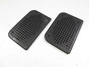 82 91 Porsche 944 Oem Door Speaker Grills Black Pair 83 84 85 86 87 88 89 90