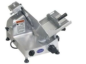 Globe C10 Chefmate Food Slicer Manual 10 Blade