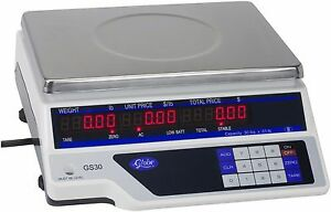 Globe Gs30 Price Computing Scale 30 Lb X 01 Lb