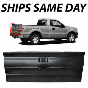 New Primered Tailgate Replacement For 2009 2014 Ford F150 Pickup W Int Step