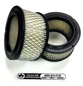 two Pack Ingersoll Rand 4 Micron Air Filter Element 2475 Type 30
