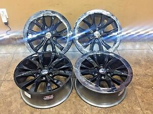 20 20 Inch Black Ford F150 King Ranch Replacement Wheels Rims Set Of 410003