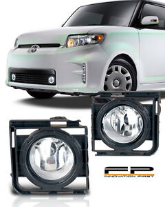 2011 2015 Scion Xb Clear Fog Light Lamp Complete Kit Switch And