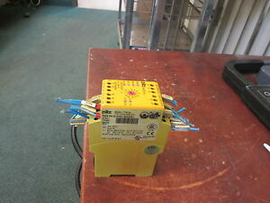 Pilz Safety Relay Pnoz Xv2 24 Vdc Range 0 30sec Used