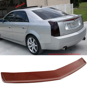 Fits 03 07 Cadillac Cts Sedan Trunk Spoiler Painted wa964l Sport Red Tintcoat